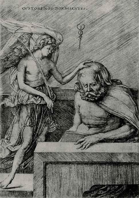 Якопо де Барбари. Ангел-хранитель