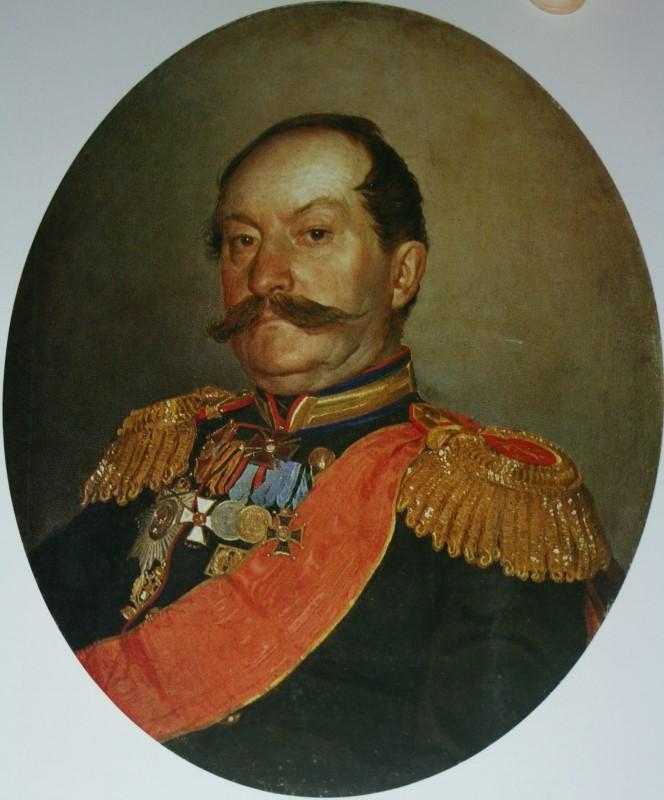 Ilya Efimovich Repin. Portrait of N. V. Meshcheryakov. Museum-apartment of I. I. Brodsky, St. Petersburg.