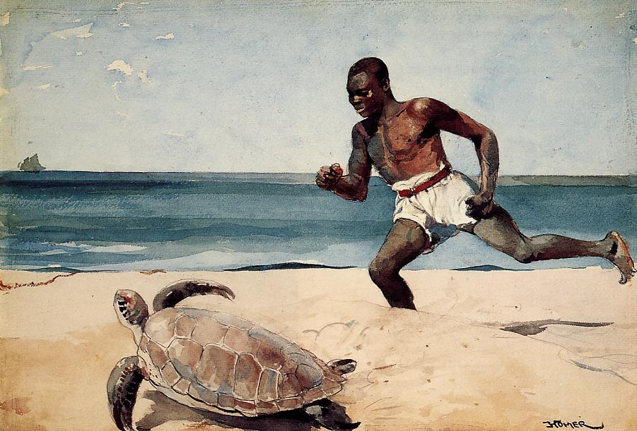 Winslow Homer. The Isle Of Rum Key, Bahamas