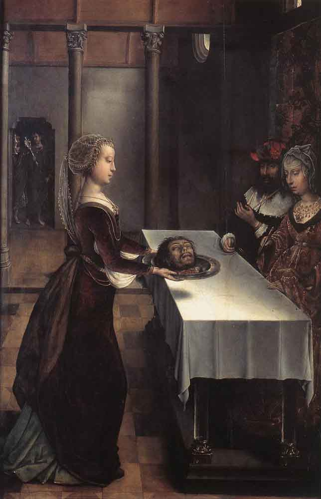 Juan De Flandes. Herodias. Revenge