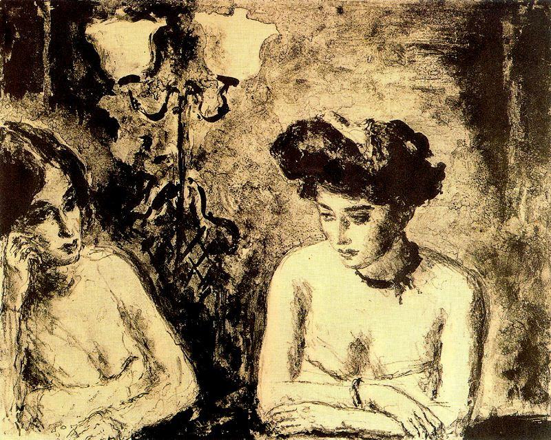 Артуро Соуто. Девушка в черной шляпе