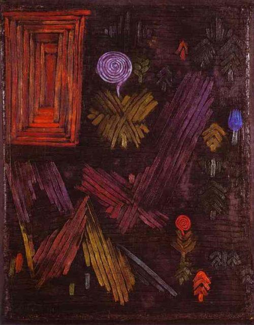 Пауль Клее. Калитка в саду