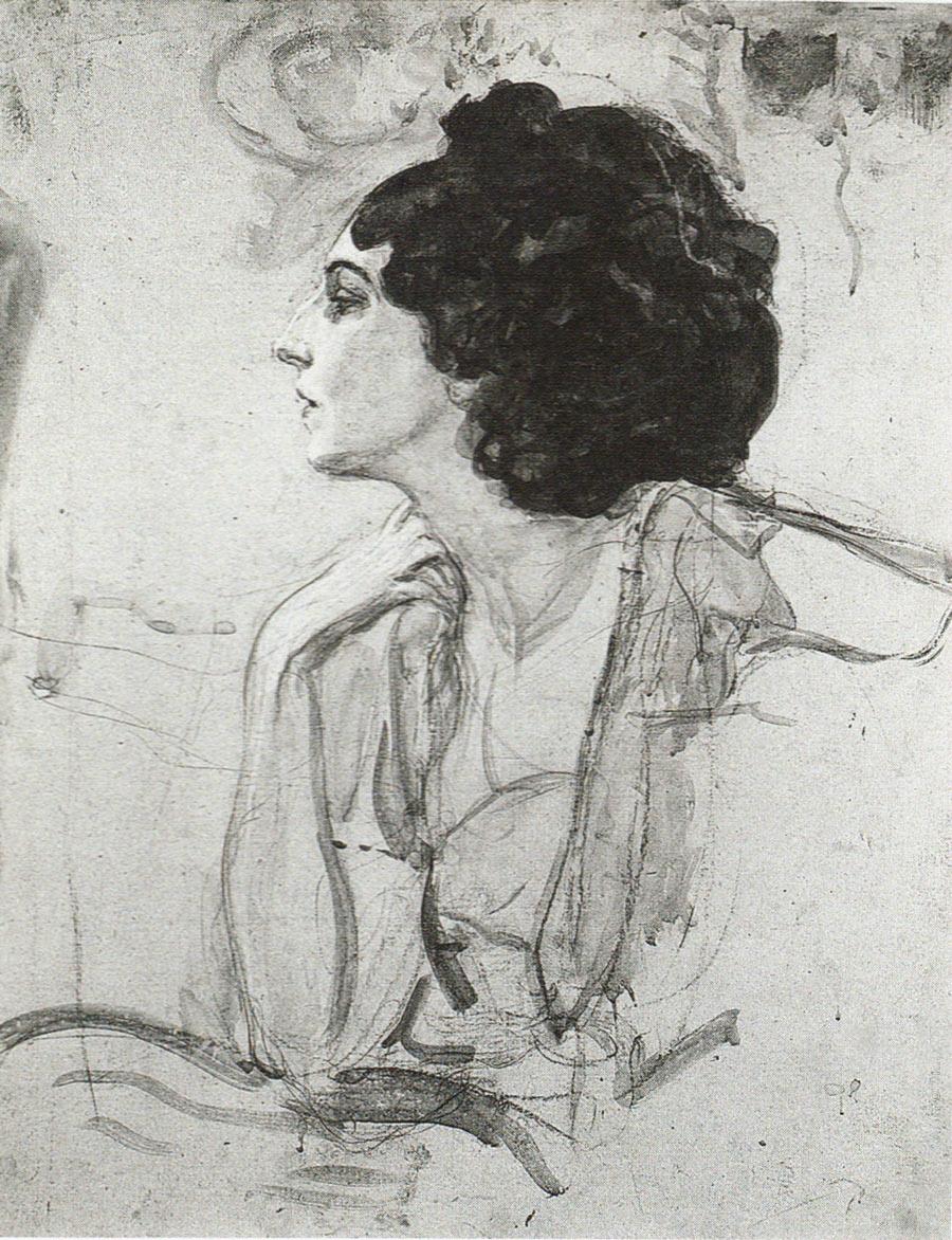 Valentin Serov. Portrait Of IDA Rubinstein