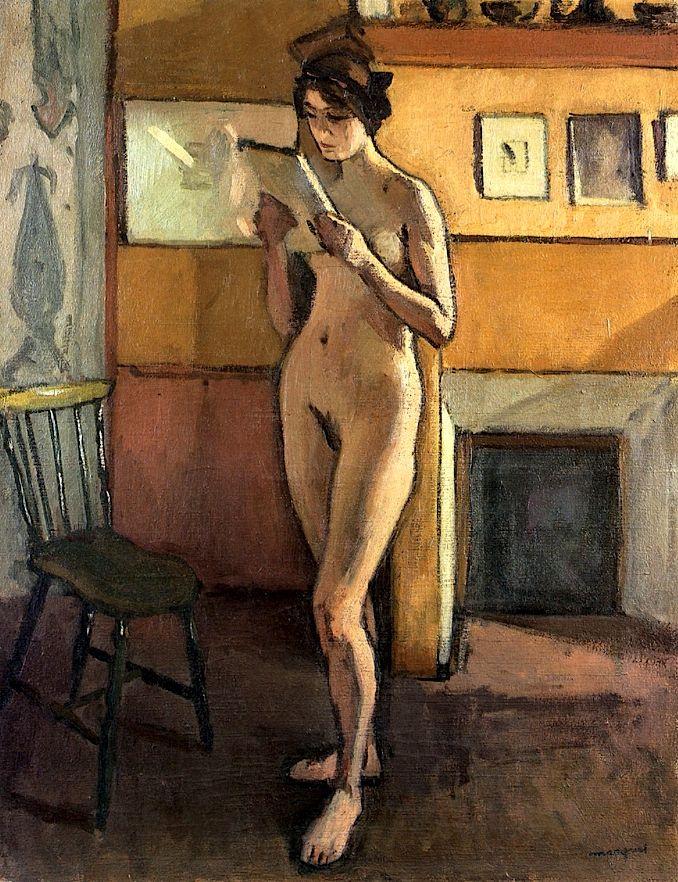 Albert Marquet. Standing Nude