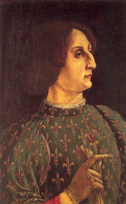 Пьеро дель Поллайоло. Профиль