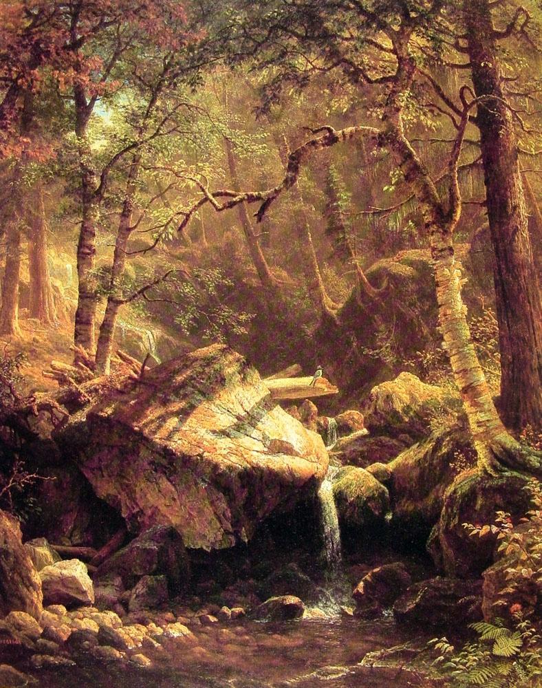 Альберт Бирштадт. Горы и лес