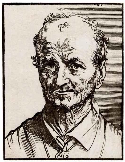 Ян Ливенс. Портрет старика