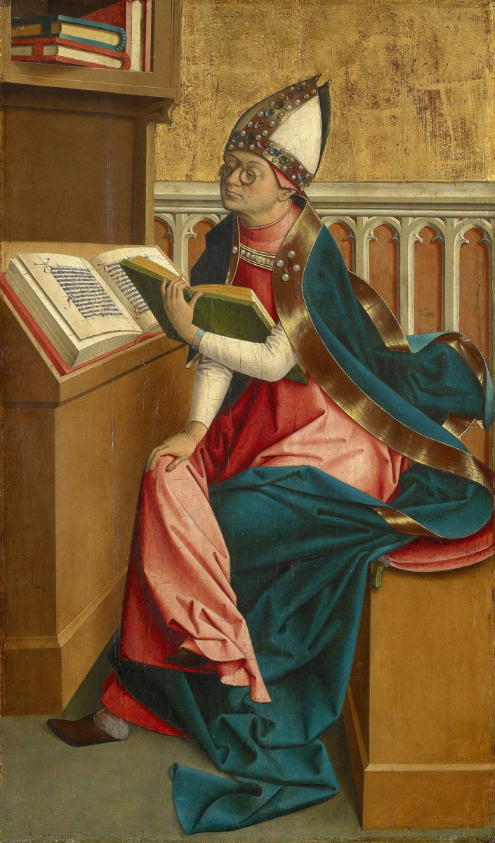 Мастер из Гросгмайна. Святой Августин