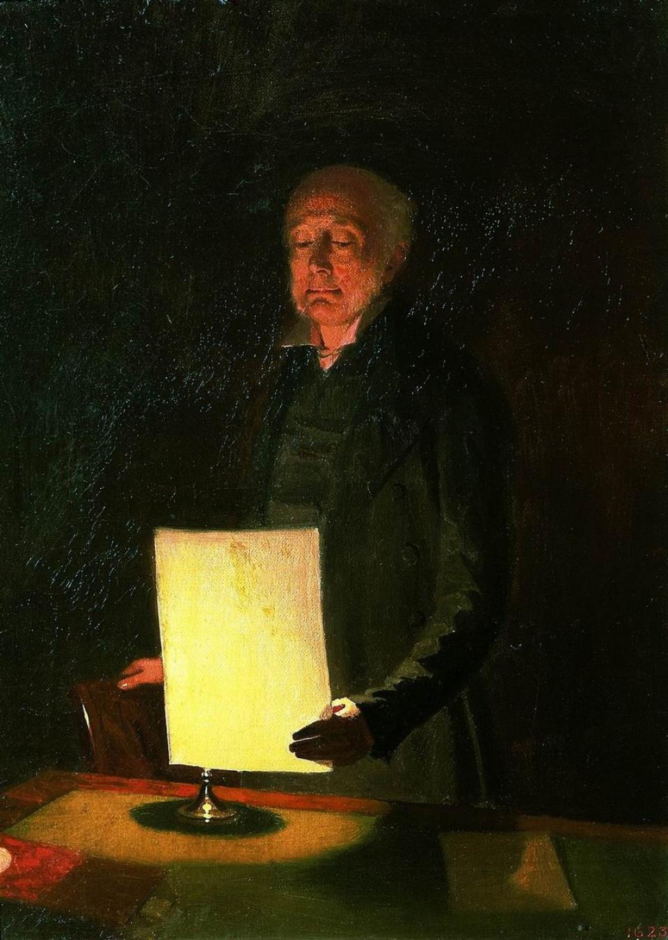 Portrait of Egor Gavrilovich Flug