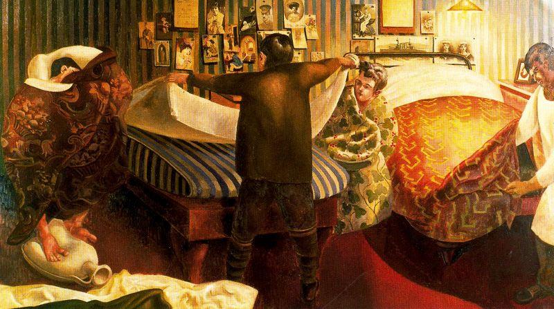 Stanley Spencer. Bed