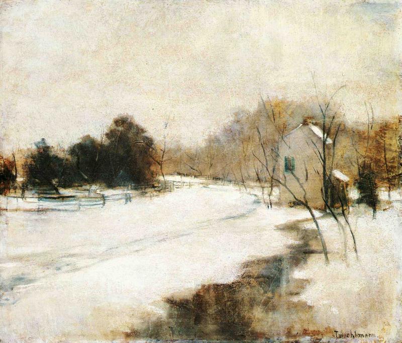 8e3bffa026e09 Winter in Cincinnati by John Henry Twachtman  History