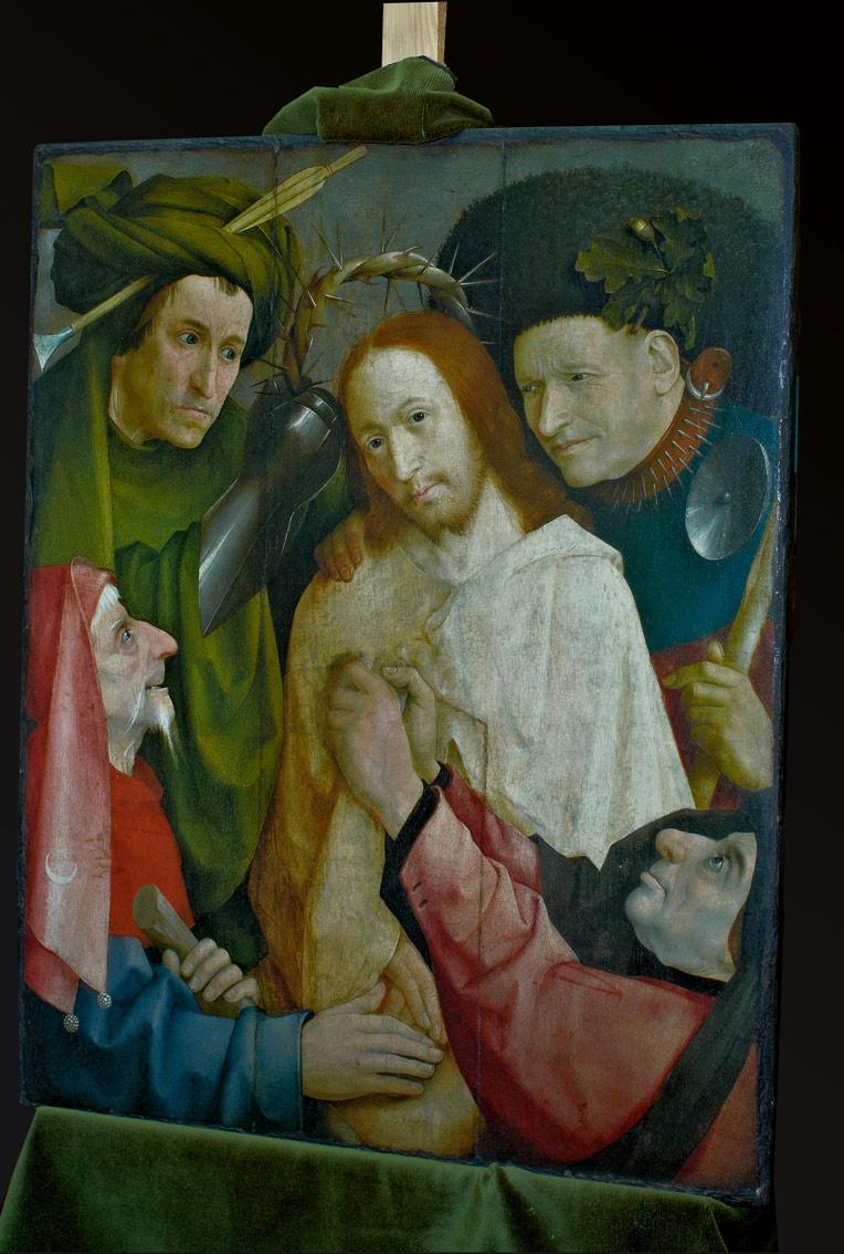 """Hiëronymus Bosch. Copy of the painting """"De doornenkroning van Christus"""""""
