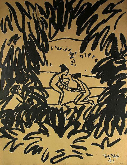 Fritz Bleuil. Bathers