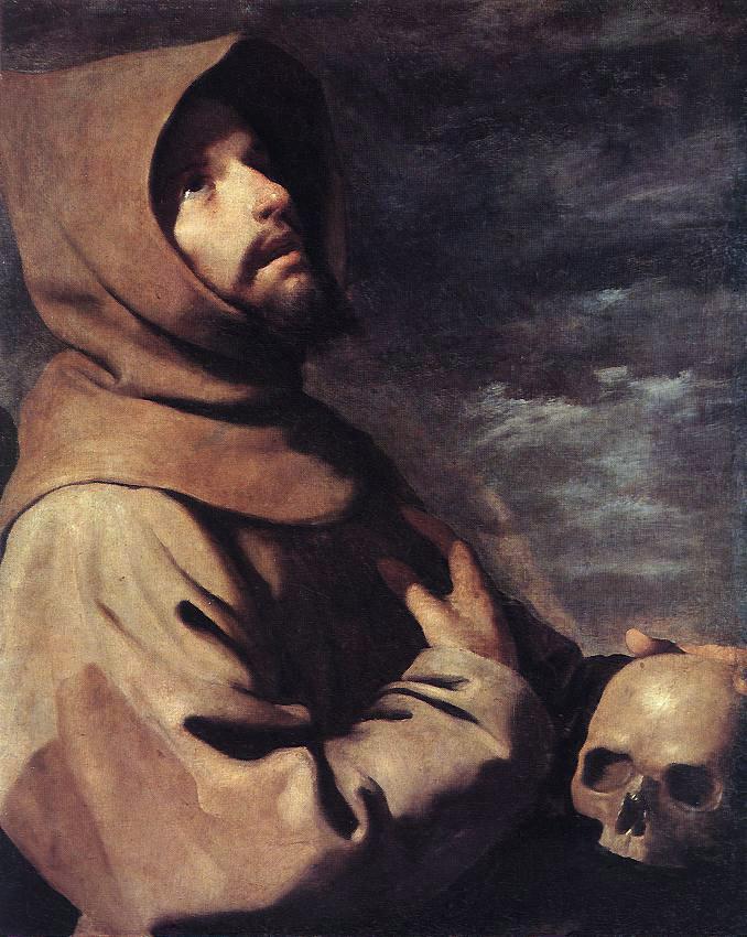 Francisco de Zurbaran. St. Francis