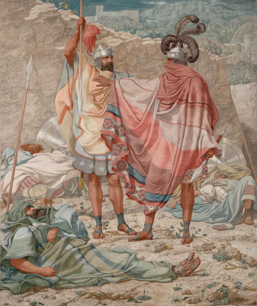 Ричард Дадд. Mercy: David and Saul