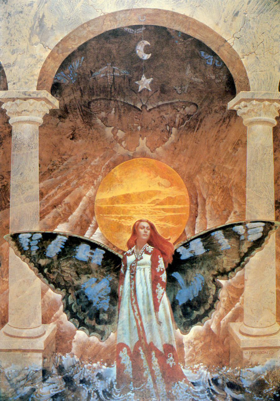 Jerry Harston. Butterfly