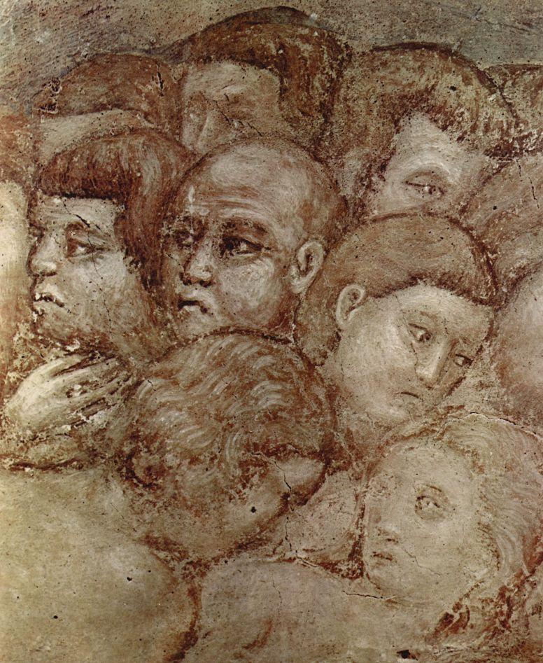 Pietro Cavallini. The last judgement, detail