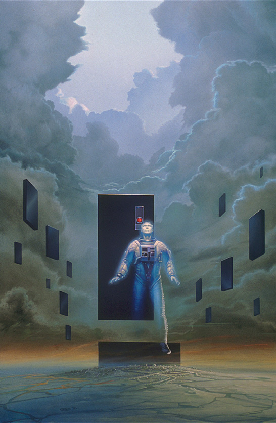 Майкл Уилан. Робот смотрит на небо
