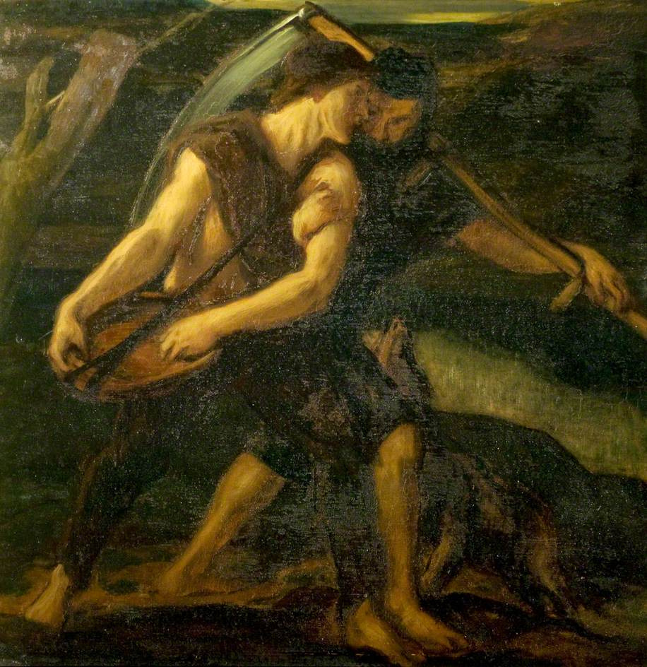 Charles Hazelwood Shannon. Reaper and sower