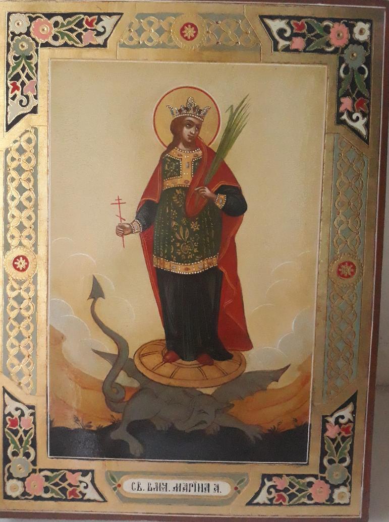OKSANA SHVETSOVA. Holy Great Martyr Marina