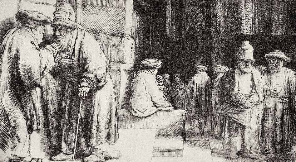 Рембрандт Ван Рейн. Синагога