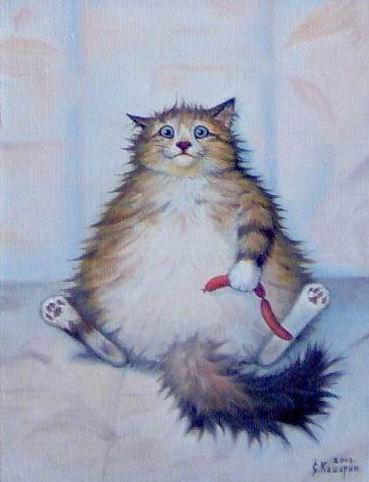 Степан Владимирович Каширин. Кот с сосисками