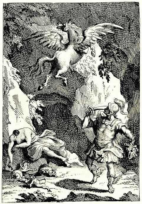 Уильям Хогарт. Персей с головой Медузы