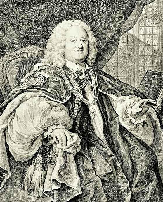 Уильям Хогарт. Портрет епископа Ходли