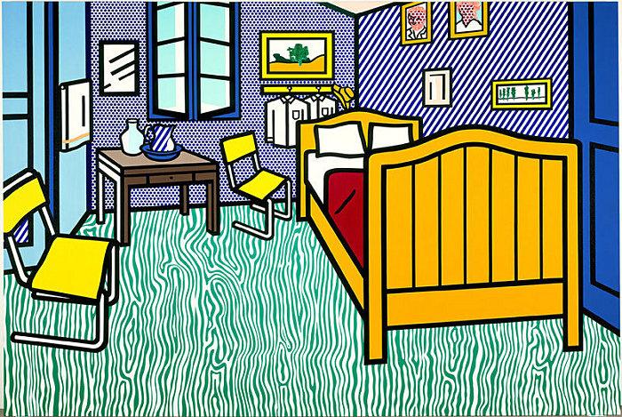 Roy Liechtenstein. Bedroom