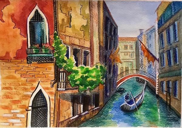 Larissa Lukaneva. Venice