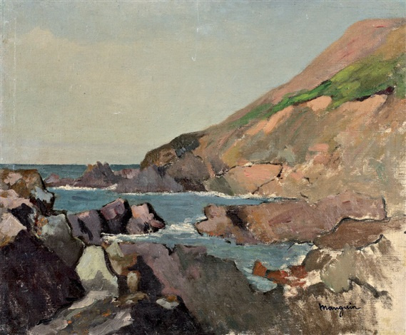 Henri Manguin. Rocks in Markalari