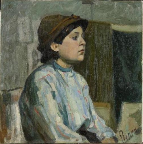 Alexey Alekseevich Repin. Little boy