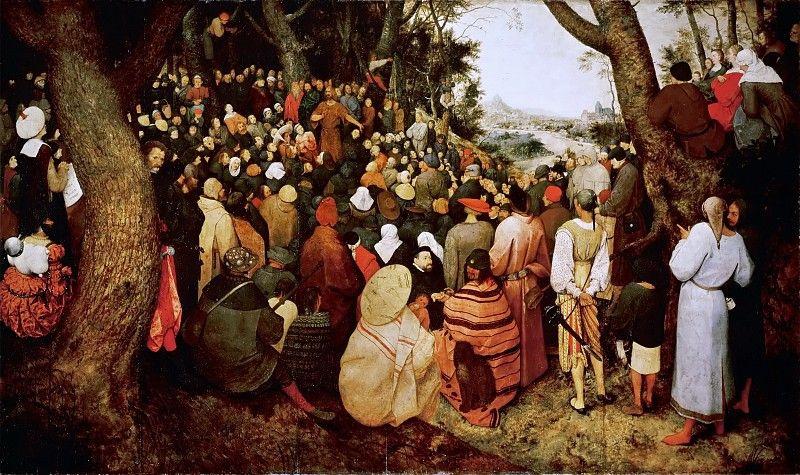 Питер Брейгель Старший. Проповедь Иоанна Крестителя