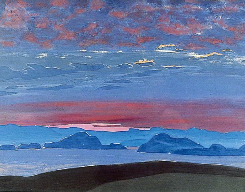 Nicholas Roerich. North of sunset