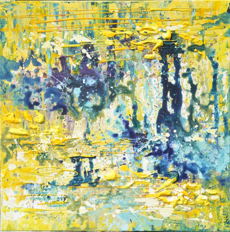 "Tanya Vasilenko. ""Abstract 32"", acrylic on canvas. Acrylic on Canvas."