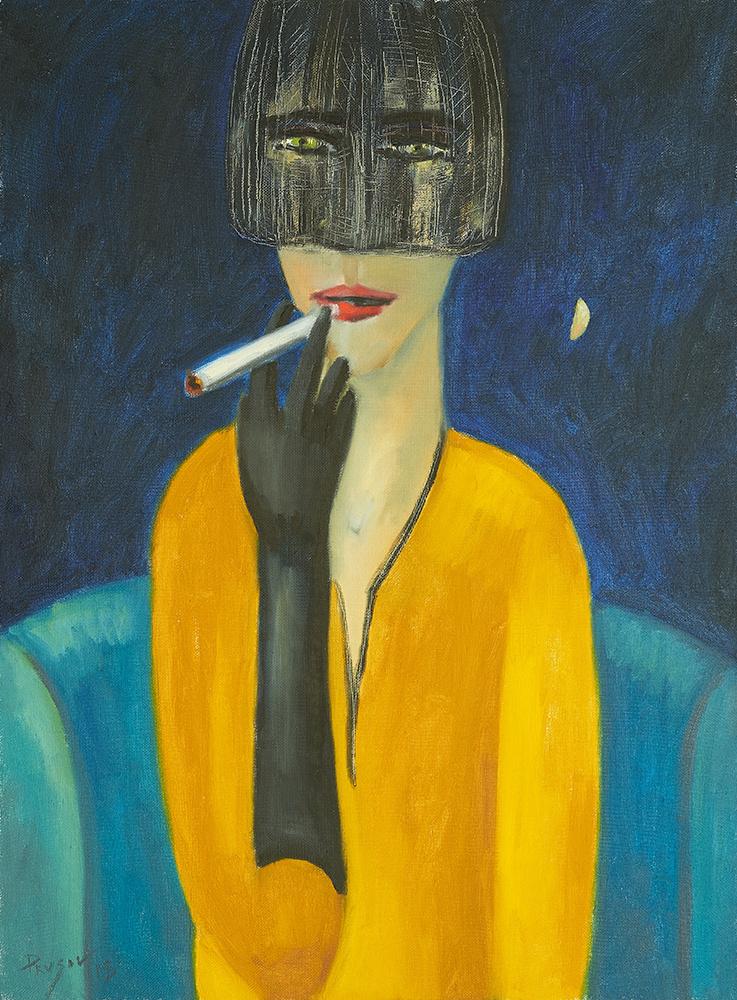 Konstantin Prusov. Stranger with a cigarette