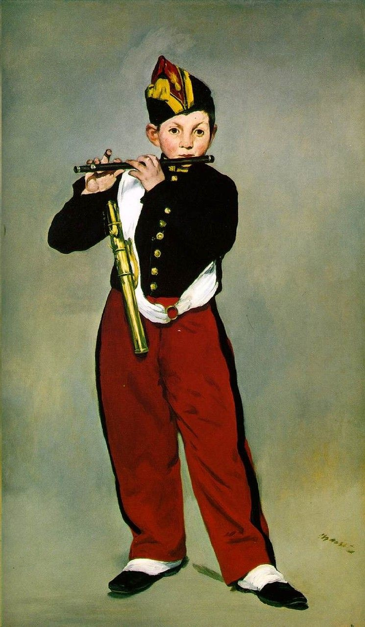 Эдуар Мане. Флейтист