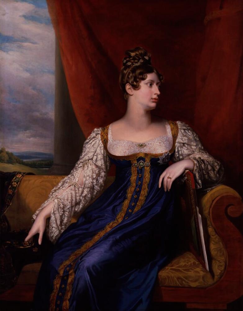 George Dow. Princess Charlotte Augustus of Wales