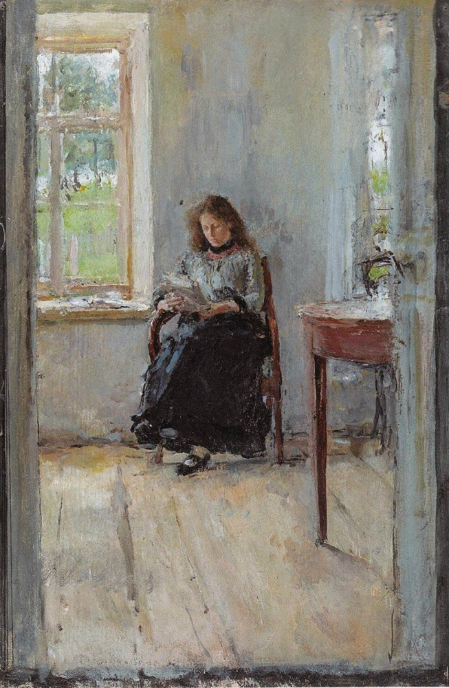 Valentin Aleksandrovich Serov. Window
