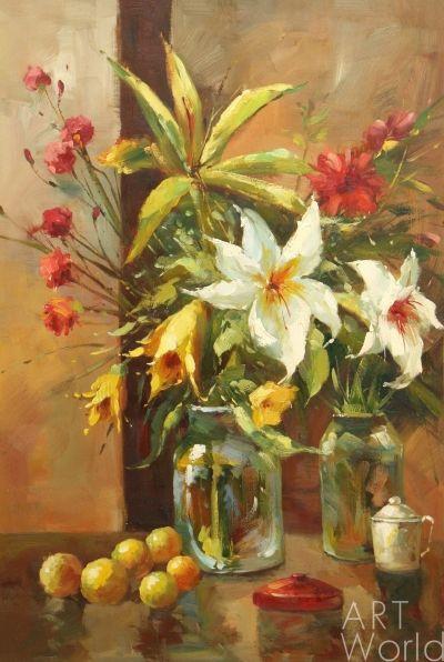 Andrzej Vlodarczyk. Lilies and carnations