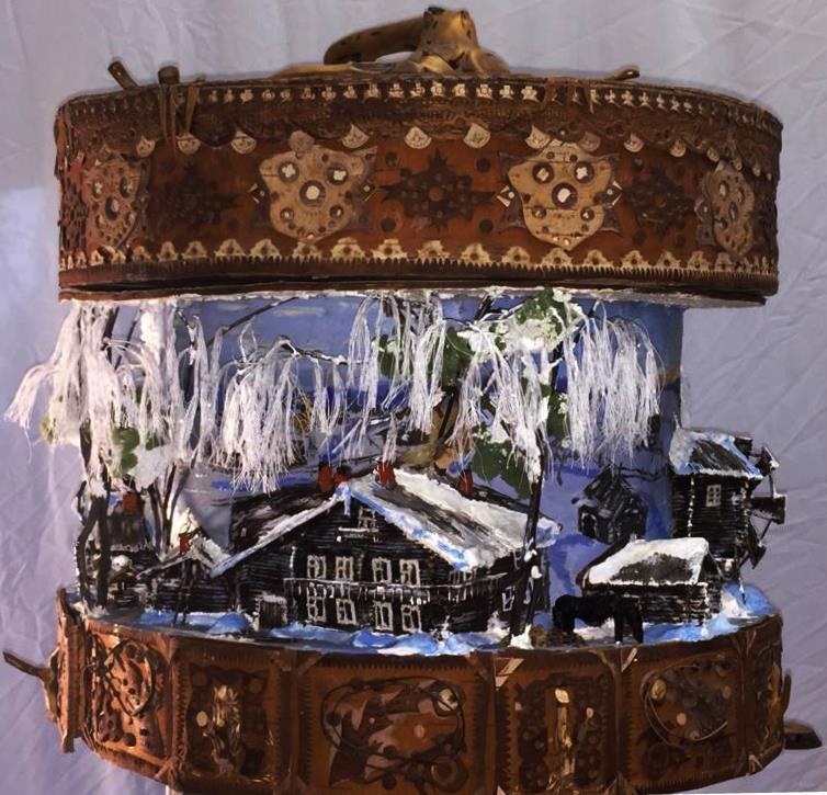 Vladimir Adamovich Ropot. Box (tues) bread box