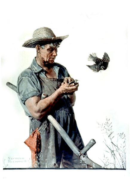 Норман Роквелл. Фермер