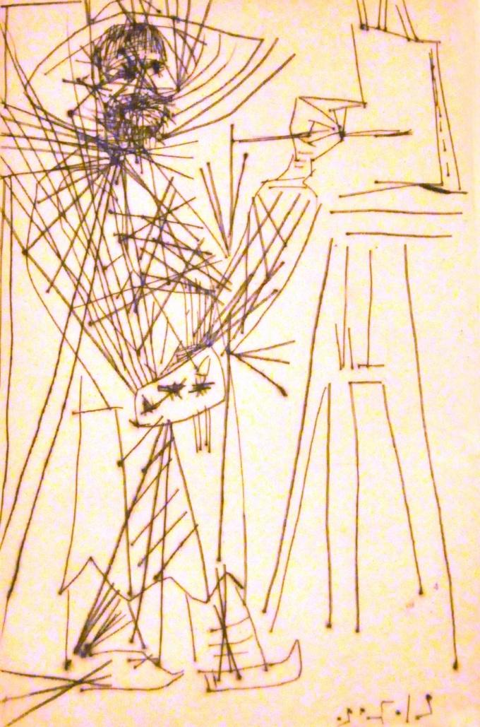 Пабло Пикассо. Нико Пиросмани