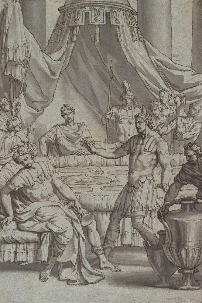 Jacques-Louis David. The Death Of Britannica