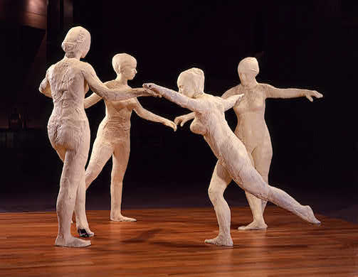 George Segal. Dancers