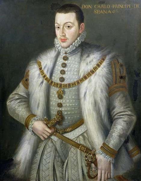 Софонисба Ангвиссола. Портрет Дона Карлоса, сына Филиппа II Испанского
