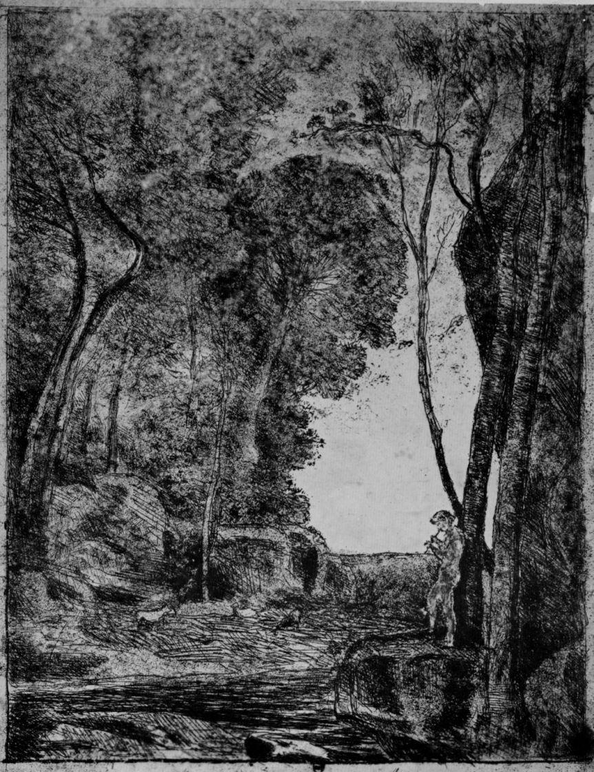 Camille Corot. Shepherd