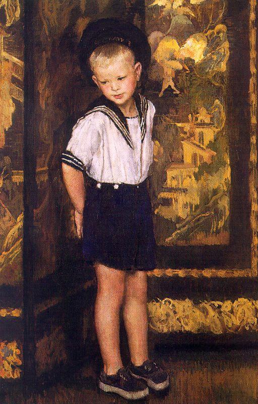 Lilian Westcott Hale. Dream boy