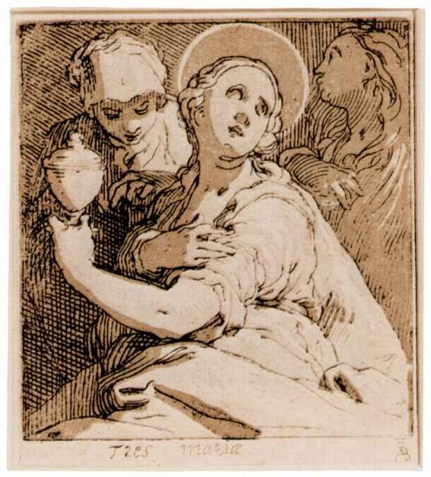 Абрахам Блумарт. Три Марии
