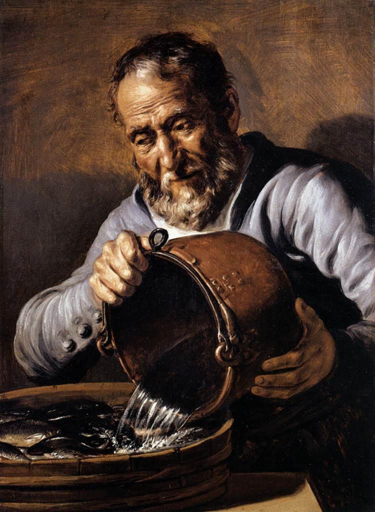 Ян Ливенс. Четыре элемента и возраст человека: вода и старость